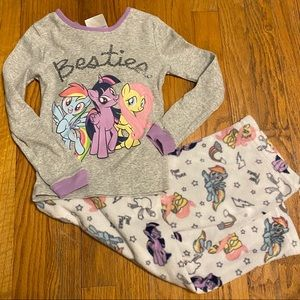 My Little Pony Pajama Set Girls Size 6X